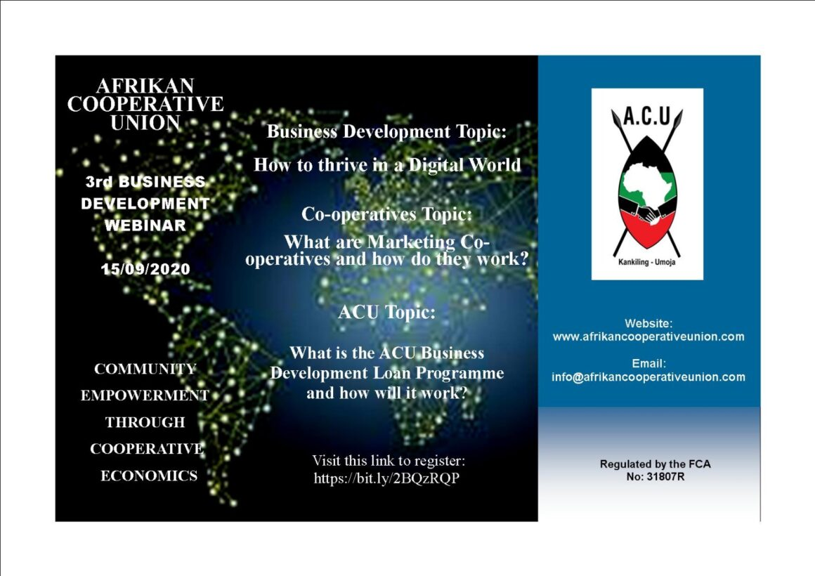 ACU Business Training Webinar – September
